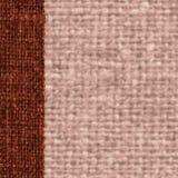 Surface de textile, extérieur de tissu, toile terre d'ombre, matériel léger, fond rétro-dénommé Photo stock