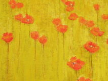 Surface de texture de peinture à l'huile Image stock