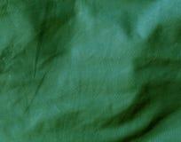 Surface de tissu de textile de couleur verte Photographie stock