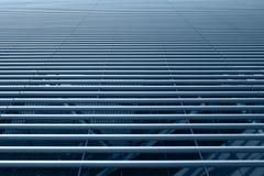 Surface de tubes d'acier inoxydable image stock