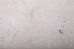 Surface de vieux tissu sale pour le fond texturisé Foyer sur Image libre de droits