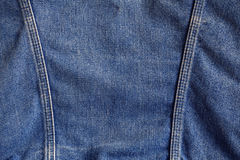 Surface of denim jackets. Stock Images