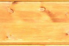 Surface du bois avec des noeuds Photographie stock libre de droits