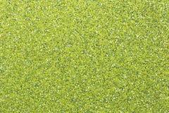Surface du papier sablé vert Photographie stock