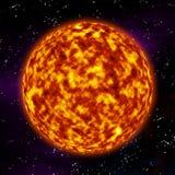 Surface du soleil Photo libre de droits