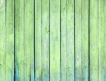 Surface of an empty green wood. Surface of an empty green wood background Stock Photography