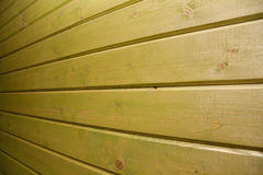 Surface of an empty green wooden background Stock Image
