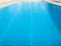 Surface of empty outdoor swimming pool Royalty Free Stock Photography