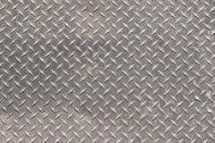 Surface en acier antidérapage Photographie stock libre de droits