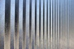 Surface en aluminium Photos libres de droits