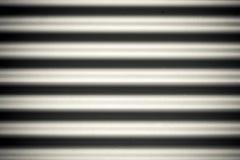 Surface en aluminium arquée photographie stock libre de droits
