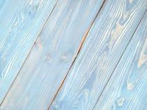 Surface en bois bleue photographie stock