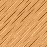 Surface en bois brune de vecteur Images stock