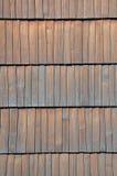 Surface en bois de bardeaux Images libres de droits