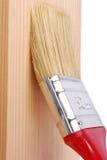 Surface en bois de peinture photographie stock