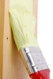 Surface en bois de peinture photo libre de droits
