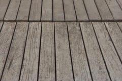 surface en bois de planche individuellement Photographie stock libre de droits