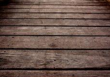 surface en bois de planche individuellement Images libres de droits