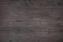 Surface en bois foncée Photos stock