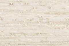 Surface en bois grunge blanche de fond de texture Photographie stock libre de droits