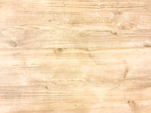Surface en bois légère de fond de texture avec le vieux modèle naturel ou la vieille vue supérieure en bois de table de texture S photographie stock