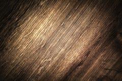 Surface en bois molle de brun foncé comme fond horizontal Image libre de droits