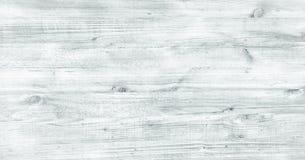 Surface en bois molle de texture de lavage blanc léger comme fond Le grunge a blanchi la vue supérieure de planches de modèle en  images libres de droits