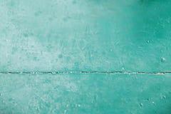 Surface en bois molle verte comme fond Photographie stock