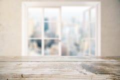 Surface en bois vide Image libre de droits
