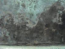 Surface en bronze grunge en vert bleu noir Images stock