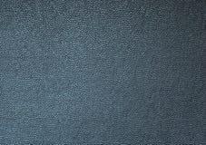 Surface en cuir noire de fond de texture Images libres de droits