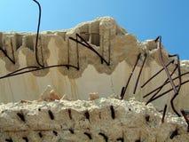 Surface endommagée par abstrait Photo stock