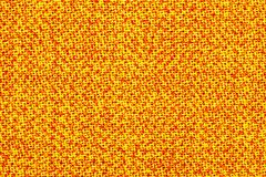 Surface of the fabric is yellow and orange. Bright, colorful background, texture.  royalty free stock images