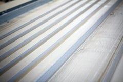 Surface finish gypsum moldings Royalty Free Stock Photo