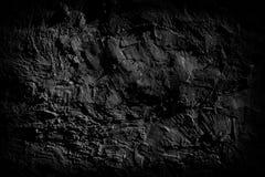 Surface foncée du vieux mur sale de ciment photo libre de droits