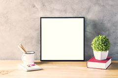Surface with frame Royalty Free Stock Photos