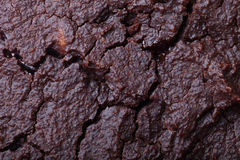 The surface of fresh chocolate biscuit for background Royalty Free Stock Photos