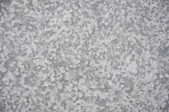 Surface galvanisée en métal Images stock