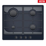 Surface of gas stove Royalty Free Stock Images
