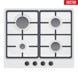 Surface of gas stove Royalty Free Stock Photography