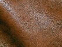 The surface of genuine leather. Close up Stock Photo