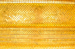 Surface of Golden pagoda in temple at Thailand. Royalty Free Stock Photos