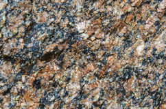 The surface of the granite stone Royalty Free Stock Photo
