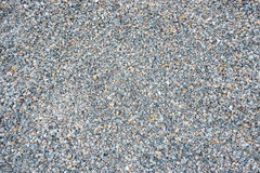 The surface of gravel. Stock Photos