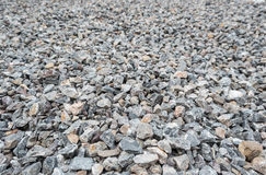 The surface of gravel Royalty Free Stock Image
