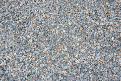 The surface of gravel. Royalty Free Stock Images