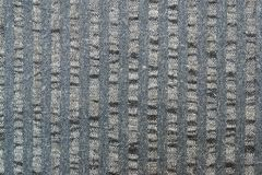 Surface of gray striped fabric Royalty Free Stock Image