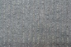 Surface of gray striped fabric Stock Image