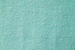 Surface of green towel Royalty Free Stock Image