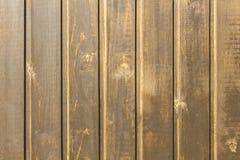 Surface grise jaune de mur des planches en bois Lignes verticales surface naturelle de texture photographie stock libre de droits